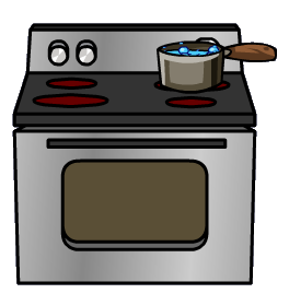 pot on stainless-steel stove