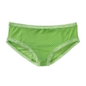 green girl's underpants